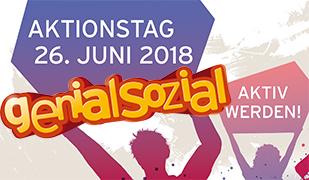 """Epikur beim Aktionstag """"genial sozial"""""""