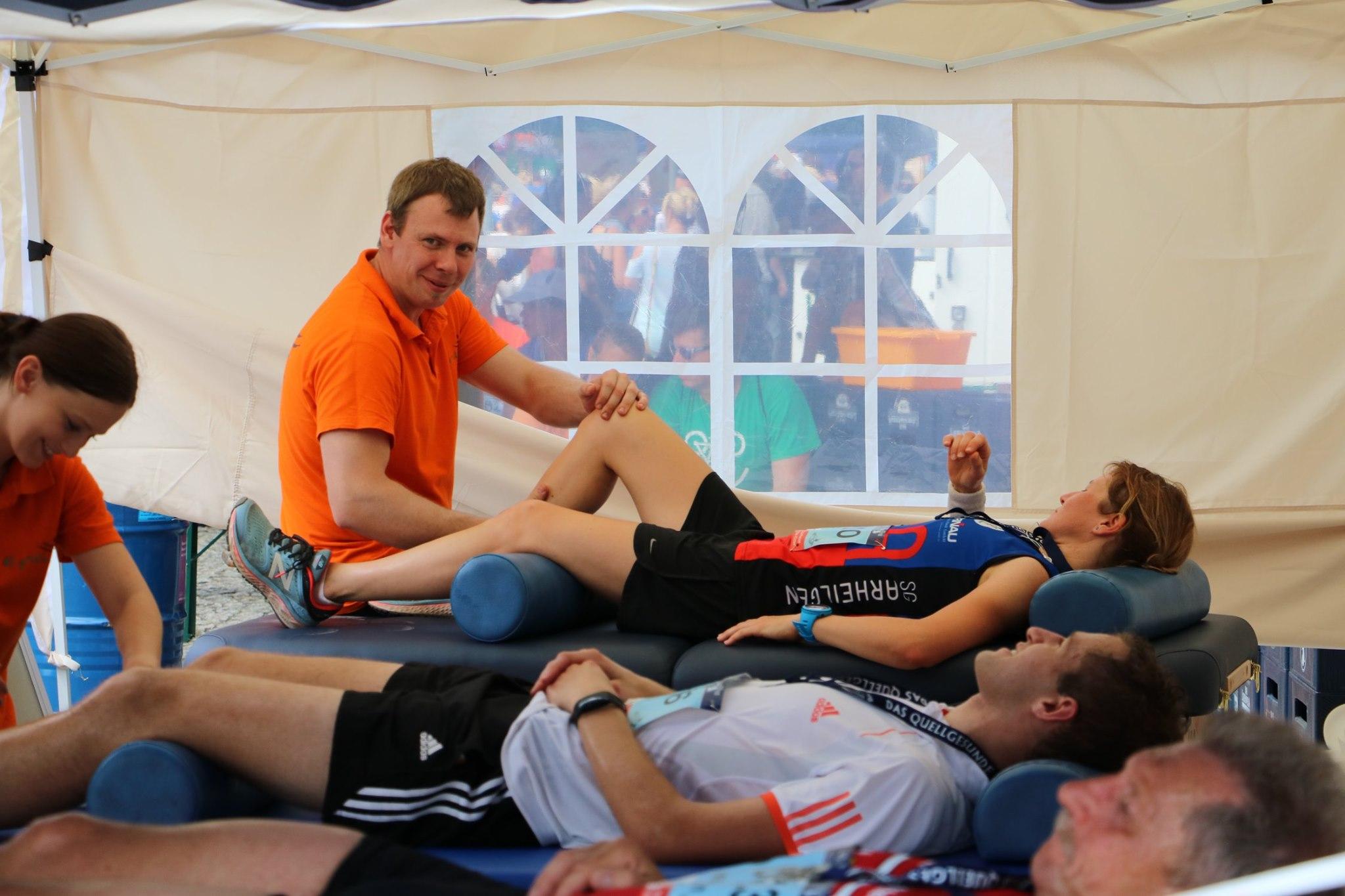 41. Elsterlauf - Epikur sorgt für Entspannung im Ziel