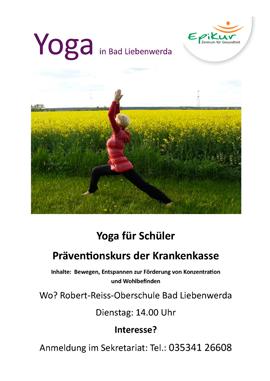 Yoga für Schüler